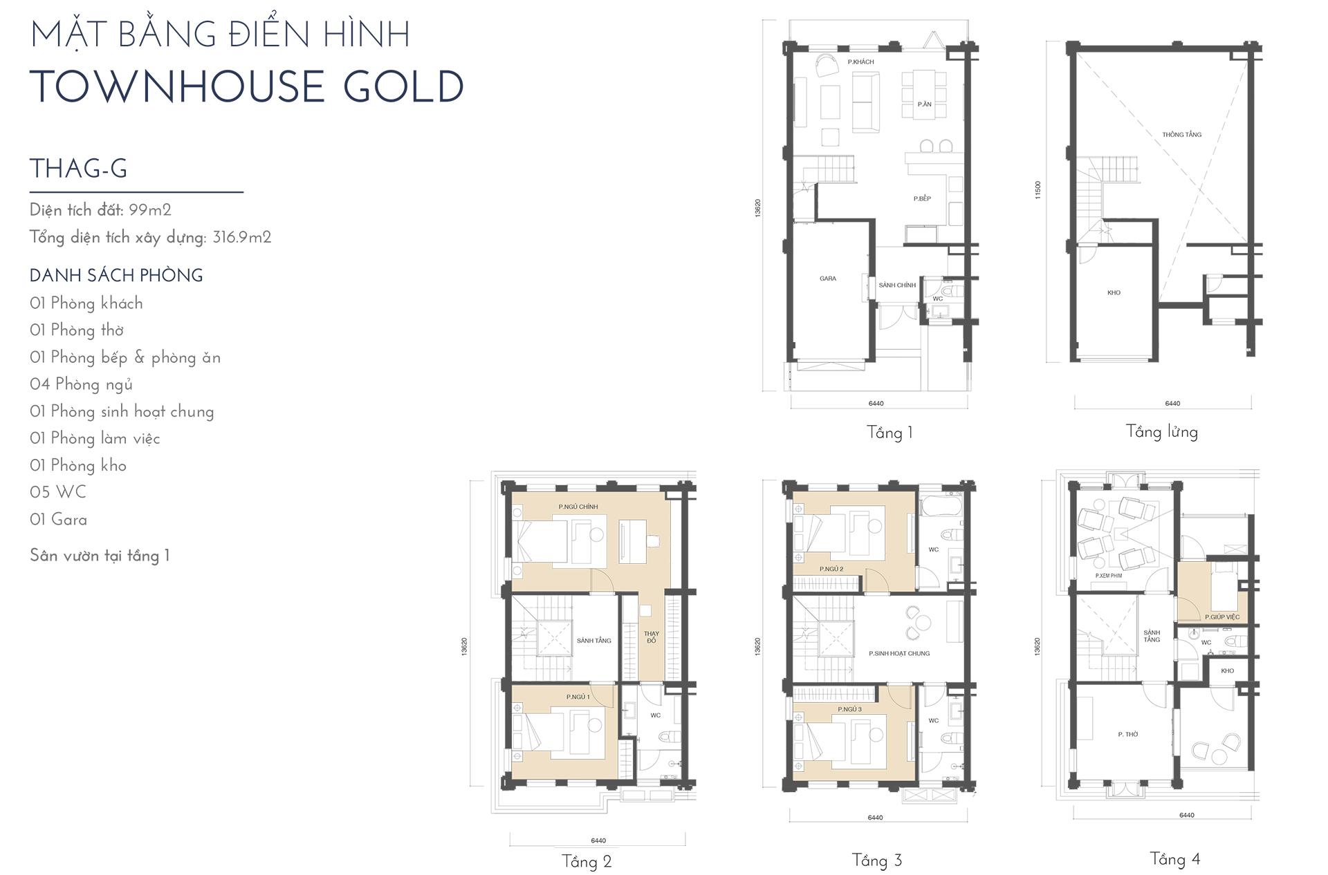townhouse gold thag g - Trang chủ