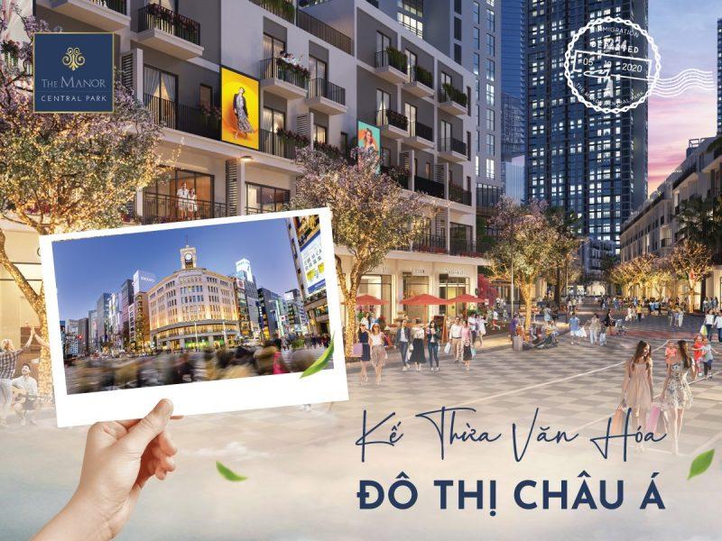 Ke thua van hoa do thi Chau A e1605192837240 - Chung cư The Manor Central Park Nguyễn Xiển – Nơi an cư lạc nghiệp